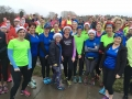 Great Regency Runners support out for Elaine's 100th Parkrun