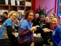 Sunday morning runs are often a social event, with coffee and cakes the reward for our effort!