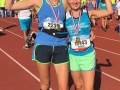 Bryony's 'Amsterdam Marathon with my bestie....'
