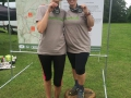 Lina and Bryony looking fab after the Maverick Gloucestershire 24k