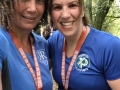 Tissington Trail - post childbirth half marathon for Keryn and Beth!