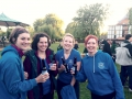 Whale Ale Relay: Jo, Katherine, Alice and Nicki. Cheers!!
