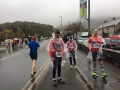 En route to the start line