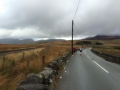 The desolate long road!